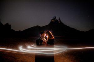 Harry Potter magical theme san diego wedding photography