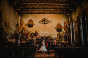 Santa barbara court house elopment san diego wedding photography