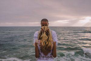 san diego wedding photographer - couple at the sea photography